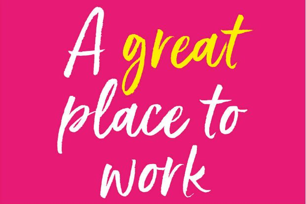 Logo of a A Great Place to Work