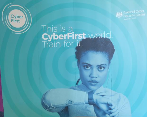 GCHQ CyberFirst campaign